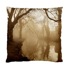 misty morning Twin-sided Cushion Case