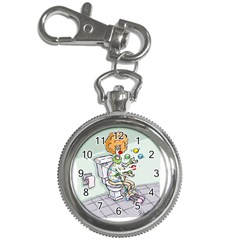 Multitasking Clown Key Chain & Watch