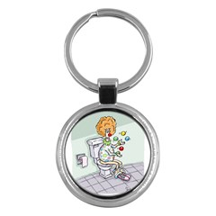 Multitasking Clown Key Chain (Round)