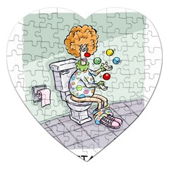 Multitasking Clown Jigsaw Puzzle (heart)