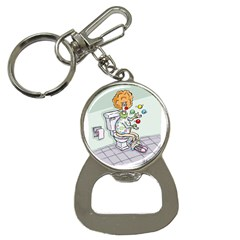 Multitasking Clown Key Chain With Bottle Opener