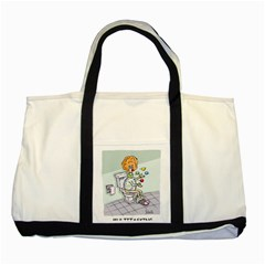 Multitasking Clown Two Toned Tote Bag