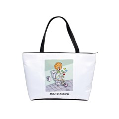 Multitasking Clown Large Shoulder Bag