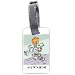 Multitasking Clown Twin-sided Luggage Tag