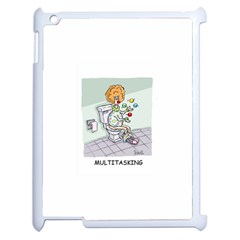 Multitasking Clown Apple Ipad 2 Case (white)