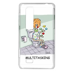 Multitasking Clown LG Optimus 3D P920 / Thrill 4G P925 Hardshell Case