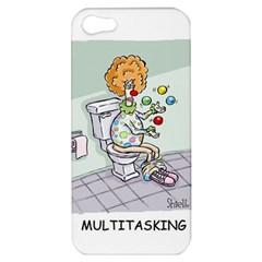 Multitasking Clown Apple iPhone 5 Hardshell Case