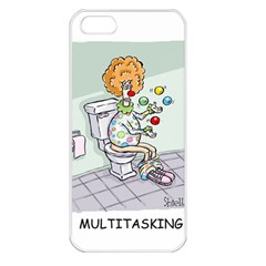 Multitasking Clown Apple Iphone 5 Seamless Case (white)