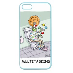 Multitasking Clown Apple Seamless iPhone 5 Case (Color)