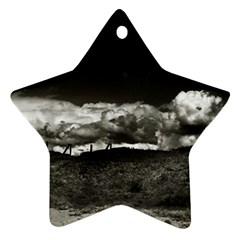 landscape, Corsica Ceramic Ornament (Star)