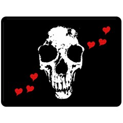 Fragmented Skull Full Sized Fleece Blanket