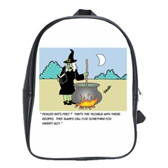 Witch s Recipe Large School Backpack