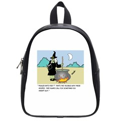 Witch s Recipe Small School Backpack