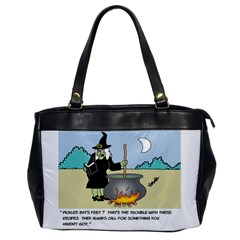 Witch s Recipe Single Sided Oversized Handbag