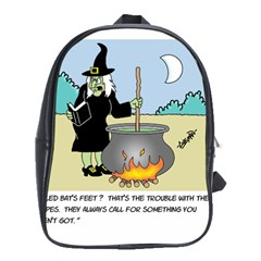 Witch s Recipe School Bag (XL)