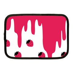 Melting Strawberry 10  Netbook Case