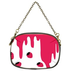 Melting Strawberry Twin-sided Evening Purse