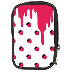 Melting Strawberry Digital Camera Case