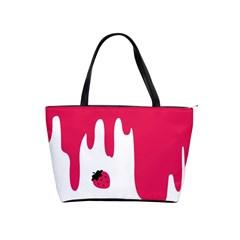 Melting Strawberry Large Shoulder Bag