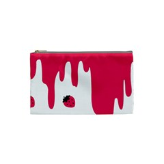 Melting Strawberry Small Makeup Purse