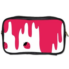 Melting Strawberry Twin Sided Personal Care Bag