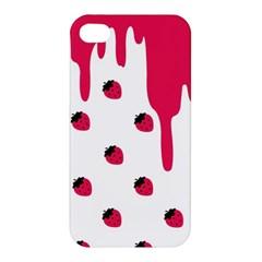 Melting Strawberry Apple iPhone 4/4S Hardshell Case