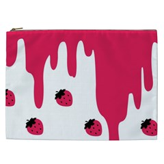 Melting Strawberry Cosmetic Bag (xxl)