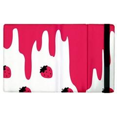 Melting Strawberry Apple iPad 2 Flip Case