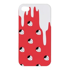 Melting White Chocolate (rose) Apple Iphone 4/4s Premium Hardshell Case