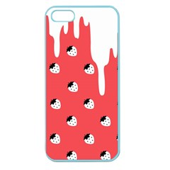 Melting White Chocolate (rose) Apple Seamless Iphone 5 Case (color)