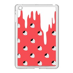 Melting White Chocolate (Rose) Apple iPad Mini Case (White)