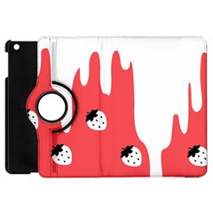 Melting White Chocolate (rose) Apple Ipad Mini Flip 360 Case