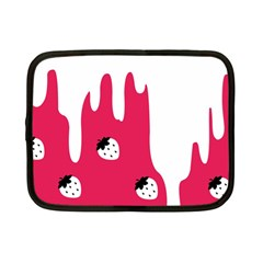 Melting White Chocolate (Pink) 7  Netbook Case