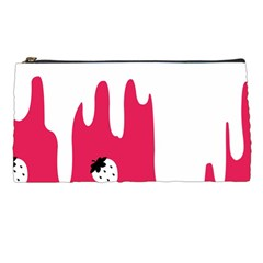 Melting White Chocolate (Pink) Pencil Case