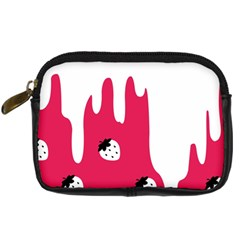 Melting White Chocolate (Pink) Compact Camera Case