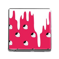 Melting White Chocolate (Pink) Card Reader with Storage (Square)
