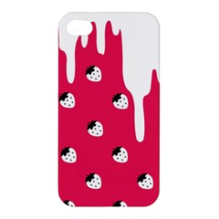 Melting White Chocolate (pink) Apple Iphone 4/4s Hardshell Case