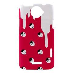 Melting White Chocolate (Pink) HTC One X Hardshell Case