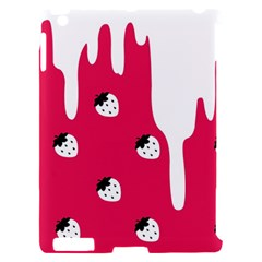 Melting White Chocolate (Pink) Apple iPad 2 Hardshell Case (Compatible with Smart Cover)