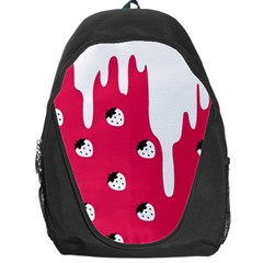 Melting White Chocolate (Pink) Backpack Bag