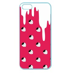 Melting White Chocolate (Pink) Apple Seamless iPhone 5 Case (Color)