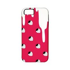 Melting White Chocolate (Pink) Apple iPhone 5 Classic Hardshell Case (PC+Silicone)