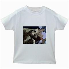 Cat Cartoonizer 2 White Kids'' T-shirt