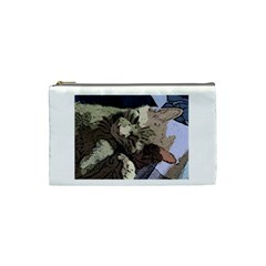 Cat Cartoonizer 2 Small Makeup Purse