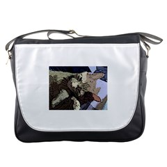 Cat Cartoonizer 2 Messenger Bag