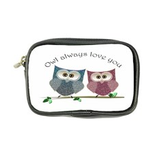 Owl always love you, cute Owls Ultra Compact Camera Case