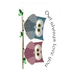 Owl Always Love You, Cute Owls Card Reader (rectangle)