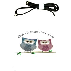 Owl Always Love You, Cute Owls Cross Shoulder Sling Bag