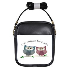 Owl Always Love You, Cute Owls Kids  Sling Bag