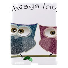 Owl Always Love You, Cute Owls Apple Ipad 3/4 Hardshell Case (compatible With Smart Cover)